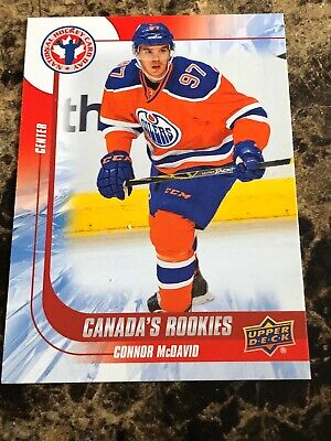 """2014-15 UD (National Hockey Card Day) """"Canada,s Rookies"""" # CAN-6 Connor McDavid!"""