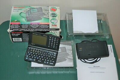 Vintage Sharp Wizard OZ-570PC PDA                   tt