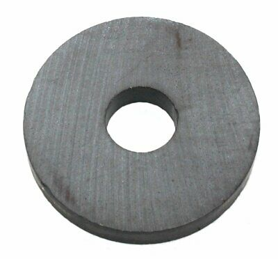 """Round Ring Magnet 1-1/4"""" OD, 3/8"""" ID, 3/16"""" thick - Lot of 4, 10, or 25."""