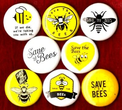 Save the Bees *J285* 8 inch beekeeping Sticker decal hive honey filter