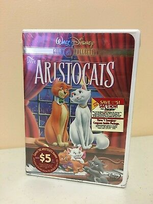 Disney's The Aristocats (DVD, 2000, Gold Collection) Brand New Factory Sealed
