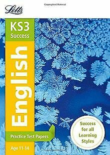 KS3 English: Practice Test Papers (Letts KS3 Rev... | Book | condition very good