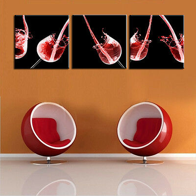 Art Wall Modern Food Abstract Red Wine Painting Decor HD Picture Print On Canvas