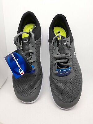 e84bf14ab8d28 CHAMPION MEN S GUSTO Grey Running Shoes Memory Foam Size 10.5 ...