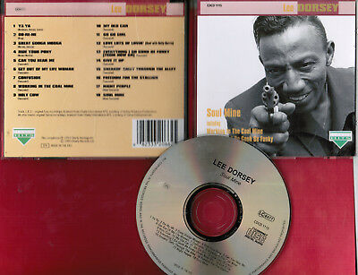 Lee Dorsey: SOUL MINE (soul CD,cHARLY LABEL UK import) basically greatest hits
