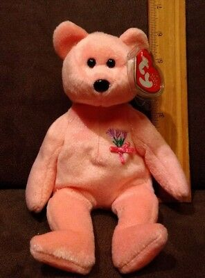 337294d1e62 TY BEANIE BABY - CORSAGE the Bear (7 inch) - MWMTs Stuffed Animal ...