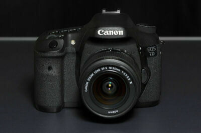 Canon EOS 7D Digital SLR Camera 18.0MP with EF-S 18-55mm Lens (2 NEW LENSES)