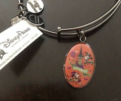 Brand New 2018 Disney Parks Event Alex and Ani Bangle Mickey's Halloween Party