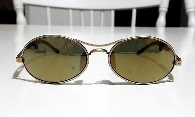 dd37052f17 sunglasses RAYBAN ORBS OVAL 1990 ARISTA B L USA mirror gold gold matte ray- ban