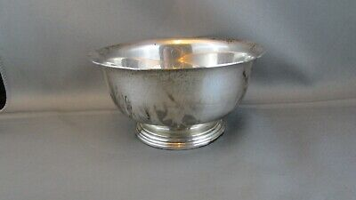 INTERNATIONAL STERLING SILVER Y90-1 LORD SAYBROOK BOWL 161.Grams ESTATE FIND