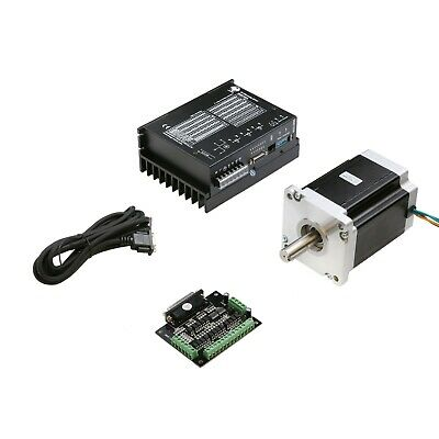 Nema42 stepper motor 3256oz.in&driver DM2722A Peak 9.8A CNC Router KIT