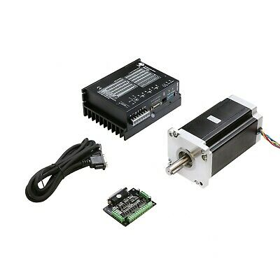 1Axis Nema42 Stepper Motor 4120oz-in 8A 4leads&Driver DM2722A 110-220VAC CNC KIT