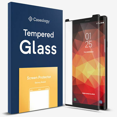 Galaxy Note 9 Screen Protector, Caseology 3D Curved Tempered Glass For Samsung
