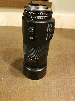 Tamron AF 70-210mm f/4 Telephoto Zoom Lens for Canon FD Manual Film Cameras