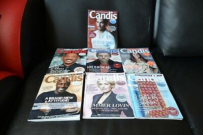Lot of 7x Candis Magazines 2017
