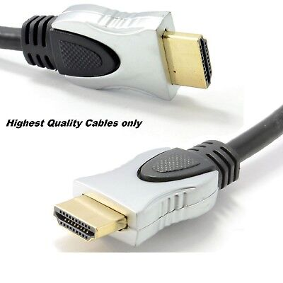 PREMIUM UltraHD HDMI Cable v1.4 0.5M/1M/1.5M/2M-10M High Speed 2K 1080p 3D Lead