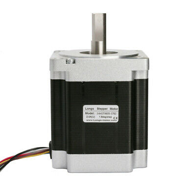 1PC Nema34 Stepper Motor 878oz=7Nm single shaft 98mm 2A 8wire 34HST9805-37B2 CNC