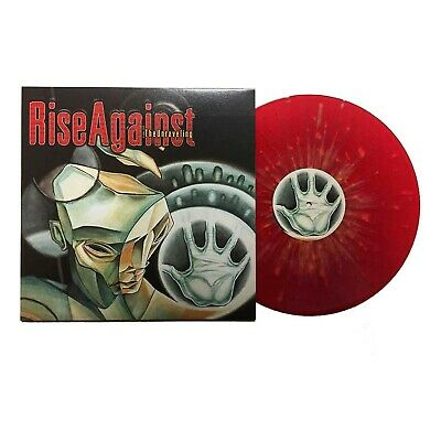 Rise Against RED color Vinyl The Unraveling Fat Wreck Punk Record Nofx rock