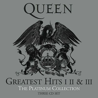 Queen Platinum Collection Greatest Hits (3 Set) CD New Sealed In Stock