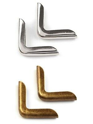 Bags Metal corners 14mm for Bags Jackets & Crafts Pack of 4