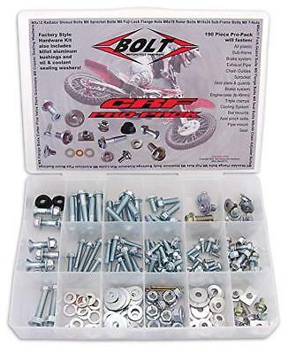 BOLT HONDA CR/CRF PRO KIT 190pc Fastener bolt Kit track pack.