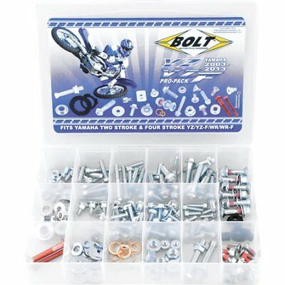 BOLT YAMAHA YZ / YZF PRO KIT 190pc Fastener bolt Kit track pack.