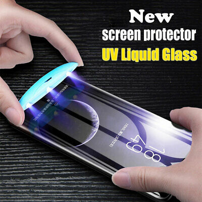 UV Tempered Glass Screen Film Protector for Samsung Galaxy Note10/S10 S8 S9Plus