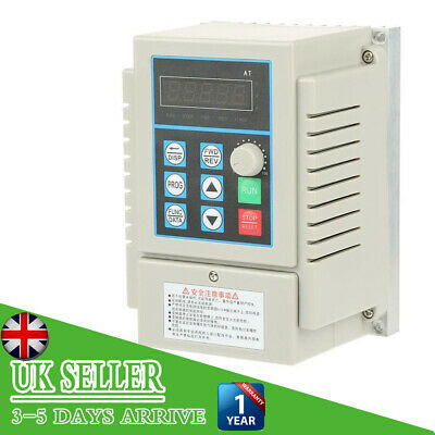 AC 220V 0.45kW Variable Frequency Drive Speed Controller Inverter Single/3-Phase