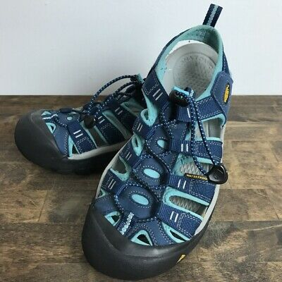 490a8cb5bf82 KEEN Newport H2 Womens Blue Size 8.5 Sandals Waterproof Water Shoes Outdoors