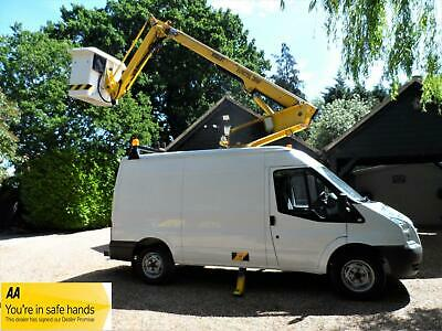 FORD TRANSIT T350 2.4TDCi MWB MEDIUM ROOF CHERRY PICKER ACCESS PLATFORM VAN 2008