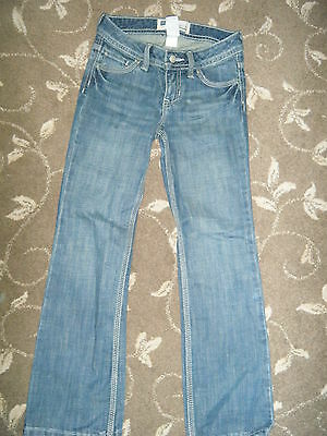 Gap Kids- Straight Fit Stretch - Boys Blue Jeans - Age 7