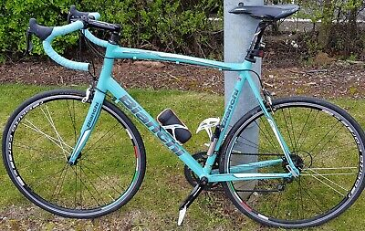 0ace9cb600c BIANCHI VIA NIRONE 7 c2c Alu - £260.00 | PicClick UK