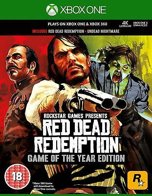 Red Dead Redemption GOTY Xbox 360 and Xbox One NEW DISPATCH TODAY ALL BY 2 P.M.