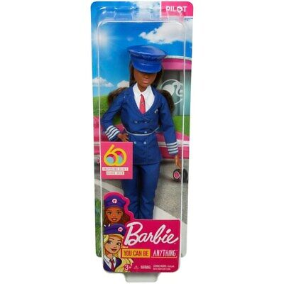 Barbie 60th Anniversary Career Doll - I Can Be A Pilot