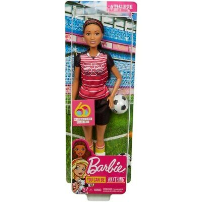 Barbie 60th Anniversary Career Doll - I Can Be A Footballer/Soccer Player