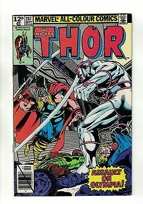 The Mighty Thor Vol. 1 - #287   Marvel Comics - September 1979