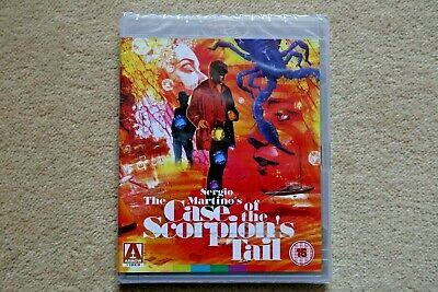 Blu-Ray The Case Of The Scorpion`s Tail  ( Arrow )   New Sealed Uk Stock