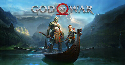 God of War Sony PlayStation 4 Primary Account Email Delivery