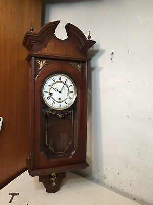 Rare Vintage Colonial Of Zeeland Triple Chime Wall Clock Westminster