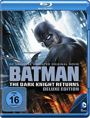 BATMAN: THE DARK KNIGHT RETURNS, Teil 1+2 (Blu-ray Disc) NEU+OVP