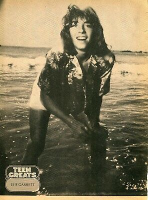 Leif Garrett Pinup Clipping Cutting From A Magazine 70's In Shorts