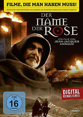 DER NAME DER ROSE (Sean Connery, Christian Slater) NEU+OVP