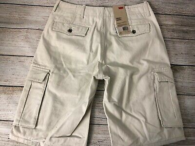 0153344613 LEVI'S MENS ACE Cargo Twill Cotton Shorts Regular Relaxed Fit Trunks ...