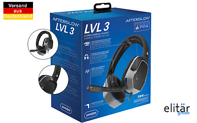"""PlayStation Gaming Headset für PS4 """"Afterglow LVL3"""" Play Station 4"""