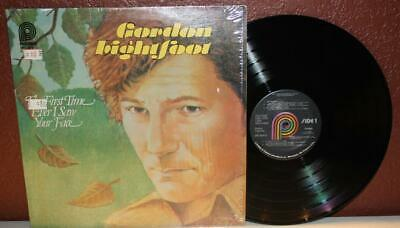 Gordon Lightfoot The First Time I Ever Saw Your Face Spc-3676 Lp Vinyl ~ R16