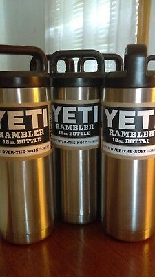 ***NEW*** Official Yeti 18oz Rambler Bottle Limited Edition ~ Stainless Steel ~