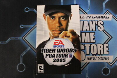 Tiger Woods PGA Tour 2005 Instruction Manual, Video Game Manuals used