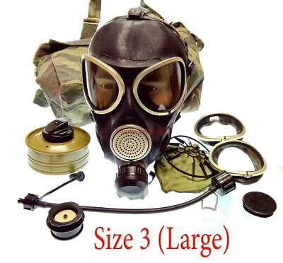 Russian Army Military Soldier GAS MASK PMK-3 Mask Filter Bag Size-3 Uniform