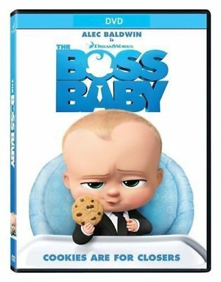 The Boss Baby (DVD, 2017) Alec Baldwin DVD Digital Hd New Sealed