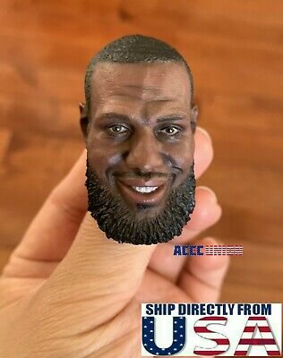 "1//6 Kobe Bryant Head Sculpt Custom For 12/"" Hot Toys Enterbay PHICEN Figure USA"